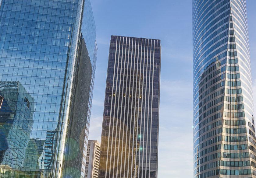 城市摩天大楼风光摄影高清图片