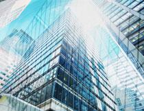 城市摩天大楼建筑摄影高清图片