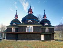 斯洛伐克天主教堂摄影高清图片