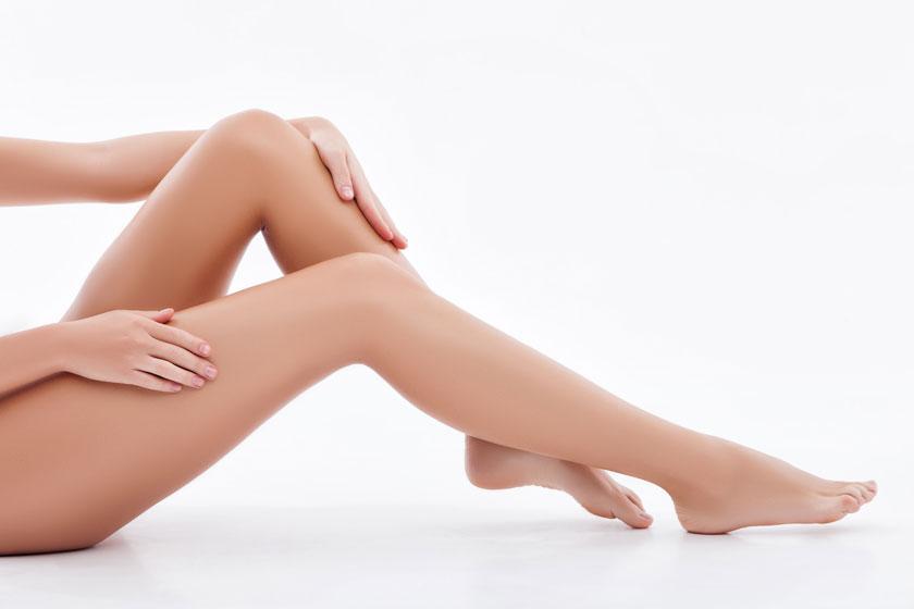 女性人物美腿特写摄影高清图片