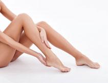 人物腿部护理主题摄影高清图片