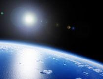 从太空视角看到的地球高清图片