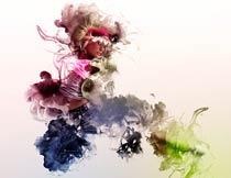 创意的墨迹扩张动画效果PS动作