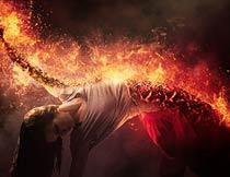 火焰和火苗燃烧动画效果PS动作