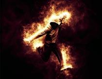 能量和火焰扩散动画效果PS动作