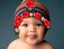 高清晰玫瑰花花环装饰PS笔刷