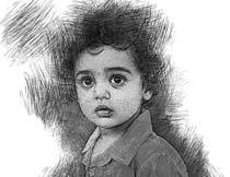 黑白素描和铅笔画效果PS动作
