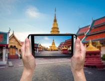 呈现在手机里的景区高清图片