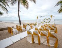 婚礼庆典现场布置摄影高清图片