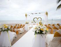 婚礼现场布置展示摄影高清图片