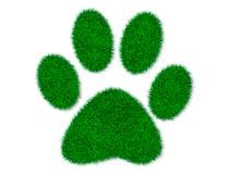 绿色草丛文字和图案PS中文动作