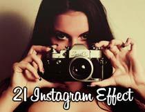 21款Instagram滤镜复古效果PS动作