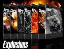 RONS系列战争火花和烟雾PSD素材