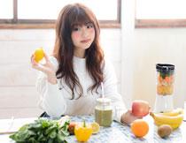 膳食营养健康主题人物高清图片