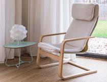 房间工艺品与休闲躺椅高清图片
