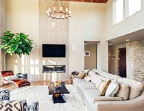 房间躺椅沙发家具摄影高清图片