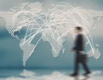 全球化的商业布局创意高清图片