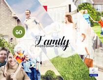 60款家庭照片艺术效果PS动作